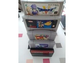 Support jeux multi consoles