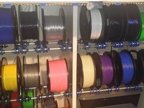 Multi-spool Universal Filament Feed System.