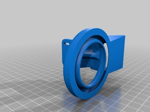 Layer fan duct for l3k extruder