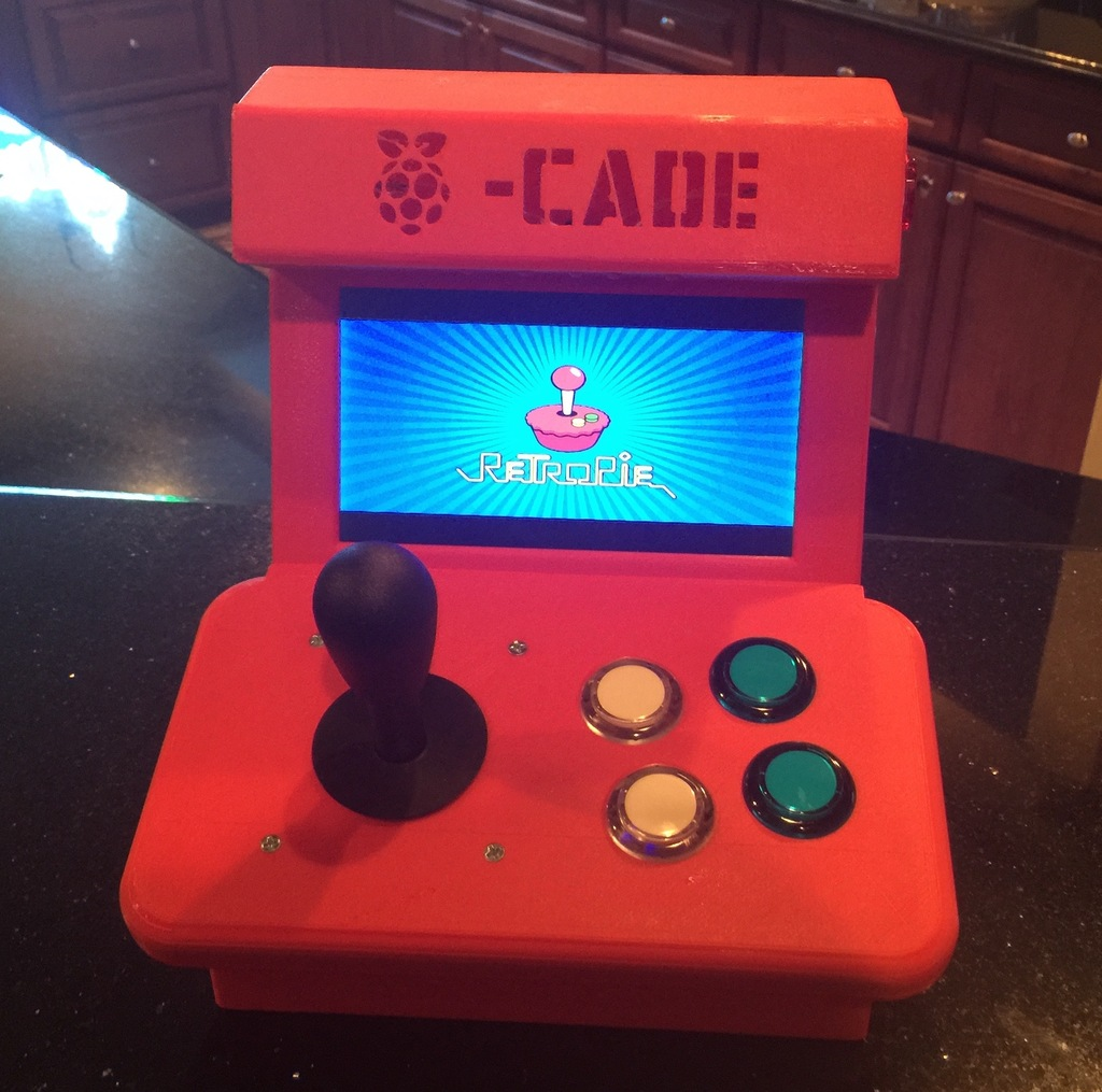 The Pi-Cade by belch - Thingiverse
