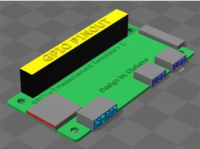 Raspberry Pi Zero Sizing Template v2.2