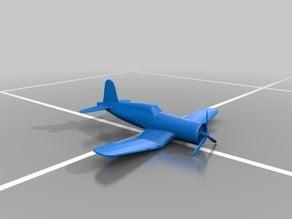 Corsair WW2 Plane