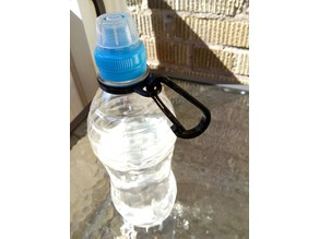 Bottle Clip/Holder with Carabiner