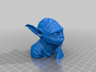 Yoda with Chin Support