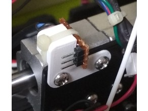Anet A8 extruder PCB mount