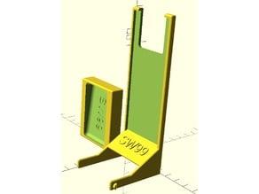 Modular Pistol Stand Riser