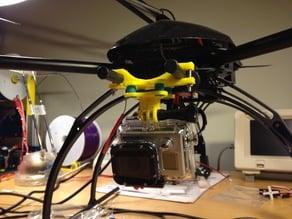 Quadcopter GoPro Camera Mount 2.0
