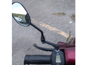 8mm M8 Motorcycle Mirror Riser (ATV, Scooter)