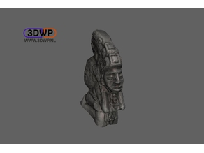 Mayan Sculpture (Statue 3D Scan)