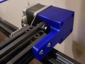 CR-10s Y Stepper Brace with Bearing Support