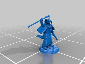 Dungeons and Dragons Miniature #1