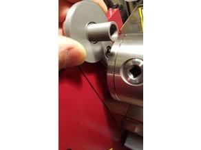 Lathe chuck nut mounting tool