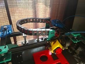Ender-4 Drag Chain Mounts for Hot End