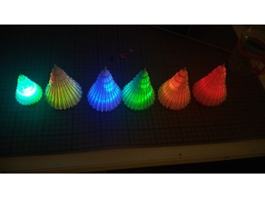 Lighting Christmas Tree RGB LED - auto change color - button cell - DIY
