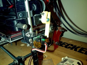 Extra long prusa opto-switch Z-flag