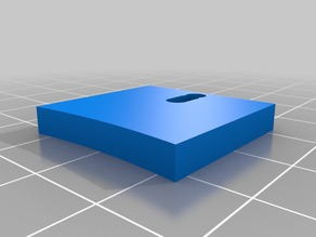 Glass Bed Holder for 180mm Glass on 220mm Heat bed