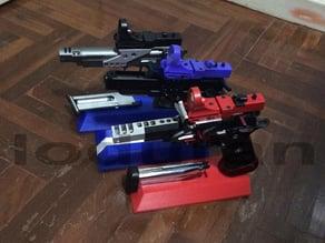 Customizable Pistol Stand