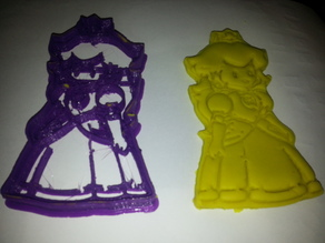 Princess Peach Cookie Cutter