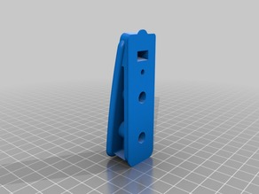 Airsoft scar H magazine floor plate for vfc mid caps (screw attachment)