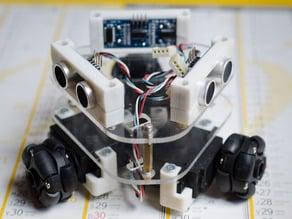 Sonar board for 3-wheeled robotic platform