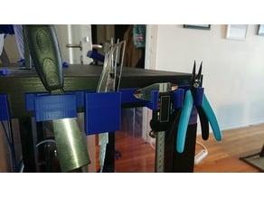 3D printer tool rack