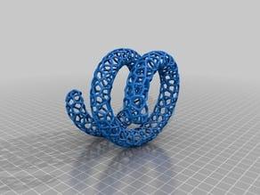 Voronoi Twisted Bangle
