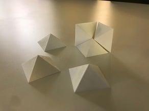 Pyramid Maths Cube