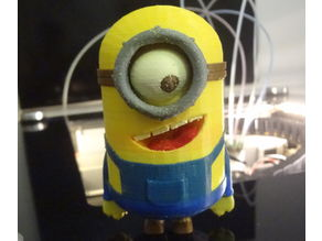 Big Minion - 6 colors 3D printing with Flux capacitor