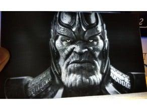 Thanos Lithophane