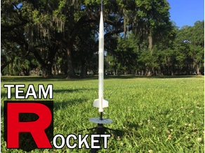 Model Rocket- Works with Estes Engines
