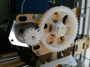 Printrbot Helical Extruder Gears