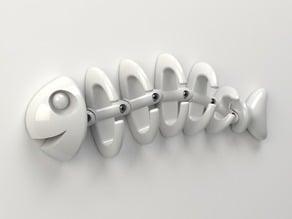 Fish Bone Wall Hanger - Modular Version