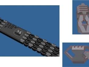 Single-pass Wristband
