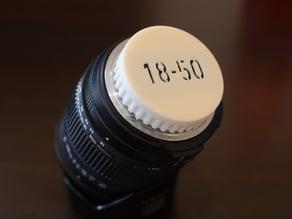 Lens cap for dSLR - Full Modular System - Nikon Pentax
