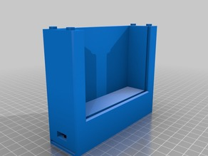 LED frame for lithophane 100x75 printout