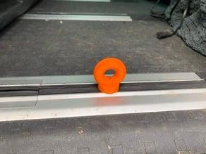 VW T5 floor rail fixation ring