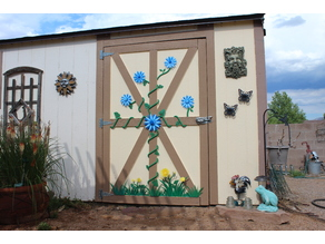 Garden Shed Decorations