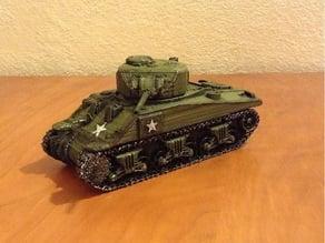 Tank Sherman scale 28 mm