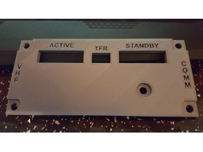 Flight Sim Panel - VHF COMM