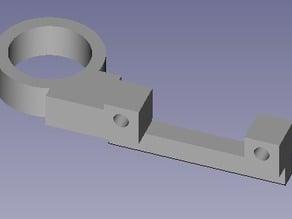 Hesine Prusa i3 17mm Induction Sensor Mount ( LJ18A3-8-Z/BX ) Auto Leveling