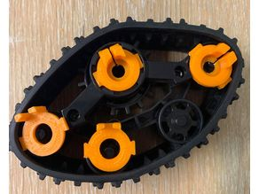 RC Track Wish.com Kit - Wheel Lockers/Adapter replacements