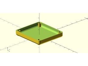 OpenSCAD Parametric Bumper