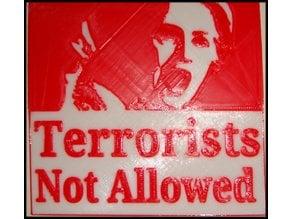 No Terrorists Allowed