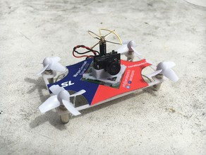FPV Racing Drone Business Card