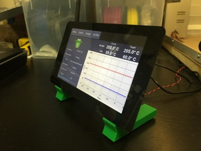 Raspberry Pi Touchscreen Stand