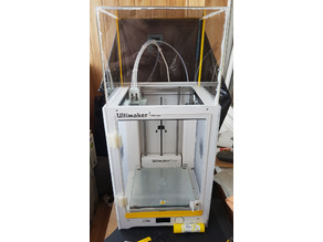 Ultimaker 3 Extended Door and top cover