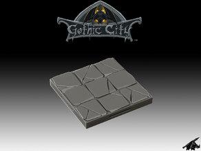 Tilescape GOTHIC CITY Stone Tile - Our New KICKSTARTER is Now LIVE!!!!