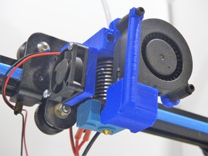 CR10 Mount for V6 Hotend