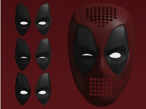 Deadpool Faceshell + Lenses