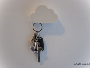 Cloud shaped Magnetic Key holder by whatakuai